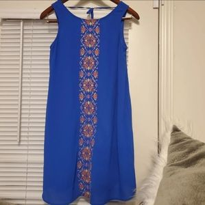 NWOT My Michelle Embroidered Dress